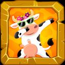 Dabbing Cow