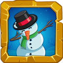 Dabbing Snowman
